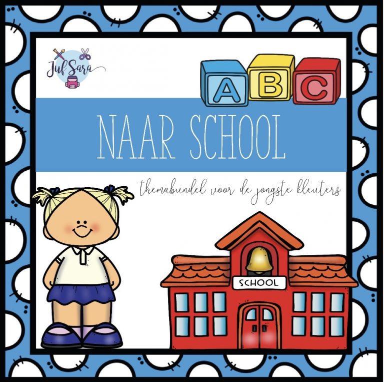 Naar school - Juf Sara