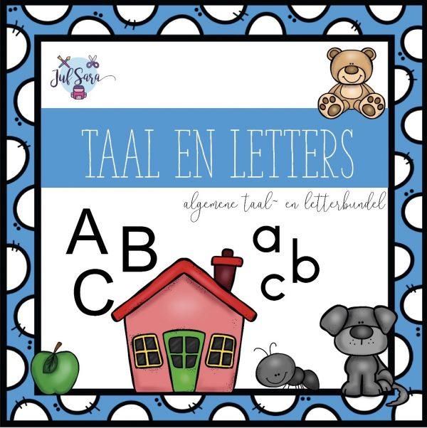 Taal- en letterbundel - Juf Sara
